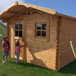 Casetta in legno 300×300 Rustica