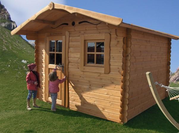 Casetta In Legno Giardino : Casetta in legno rustica la pratolina