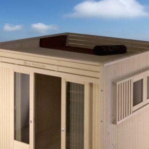 dettaglio tetto cubo