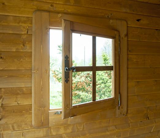 Doppia Porta Scorrevole : Casetta in legno la pratolina