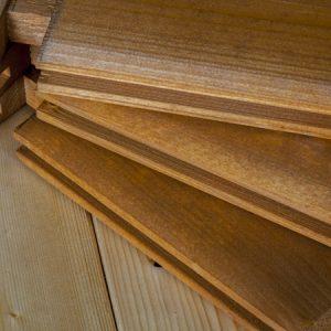 Dettaglio tavole casetta Rustica