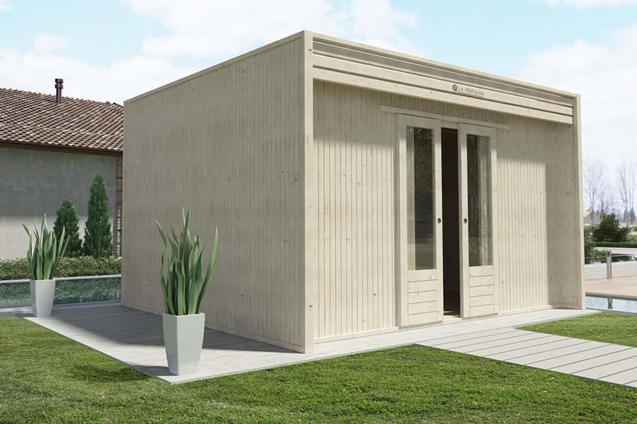 Casetta di legno 4x3 la pratolina for La pratolina casette