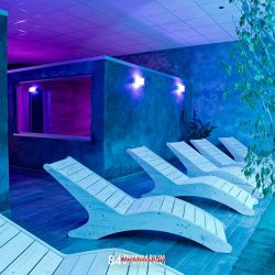area relax con chaise lounge wellness center