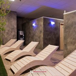 chaise lounge wellness center