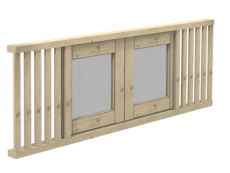 finestra cubo