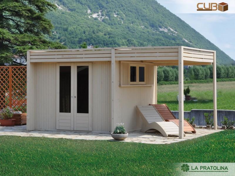 Foto casette in legno la pratolina - Casa legno moderna ...