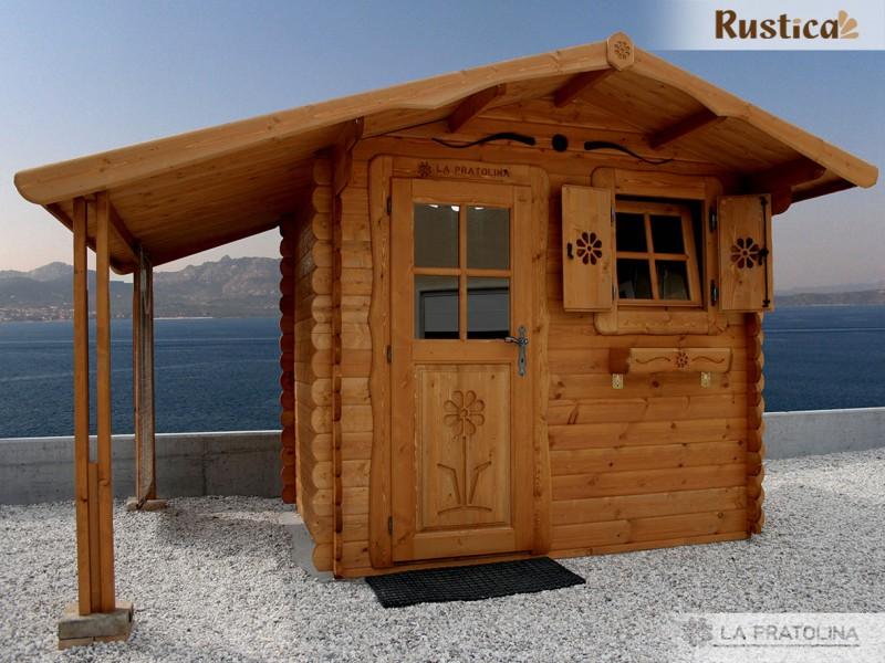 casine di legno