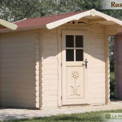casetta in legno 200×200 porta bianca