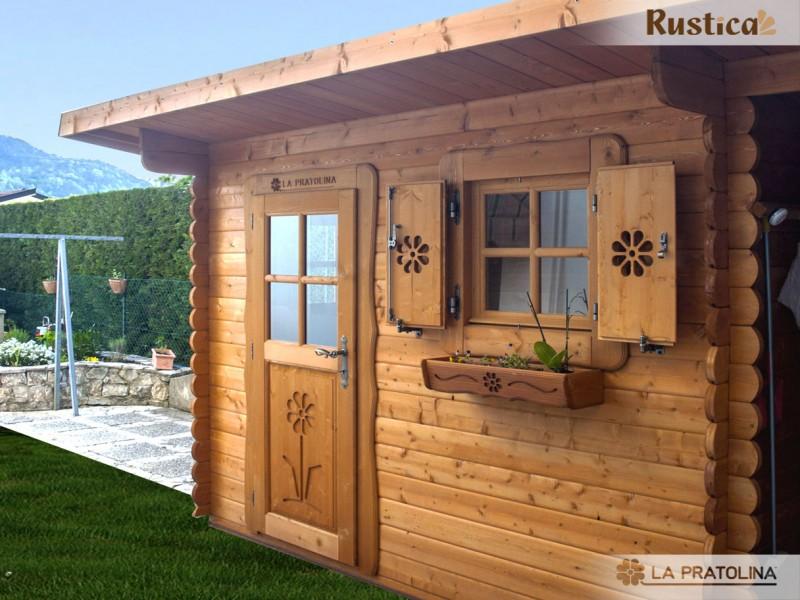 Foto casette in legno la pratolina - Verniciare una porta in legno ...