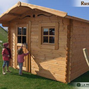 casetta in legno 3x3 porta finestra