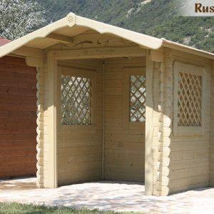 casetta in legno legnaia