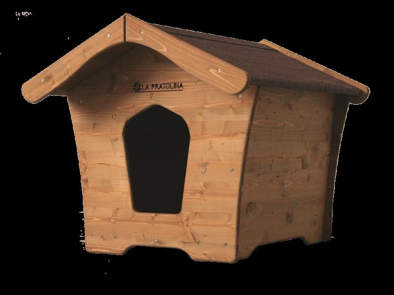 Cuccia per cani taglia grande in legno la pratolina for Cucce da interno per cani taglia grande