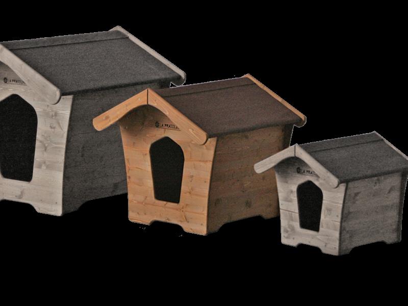 Cuccia per cani taglia media in legno la pratolina - Cuccia per cani interno ...