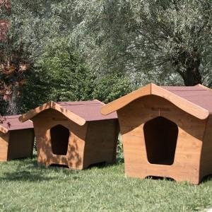 cuccie per cani in legno