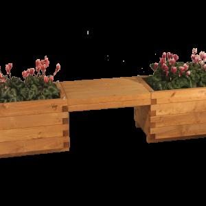 fioriera in legno 64×45 doppia