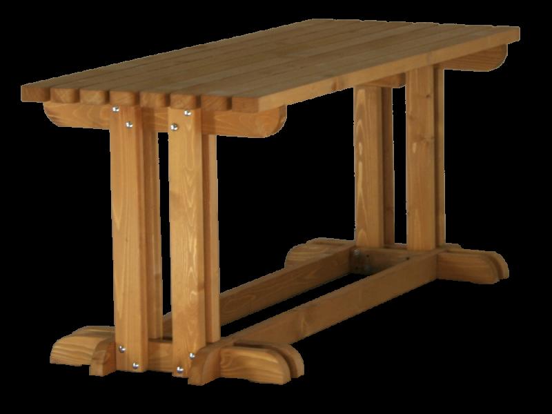 Tavolo in legno da giardino la pratolina