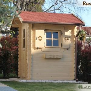 casetta in legno 200×150 porta finestra laterale