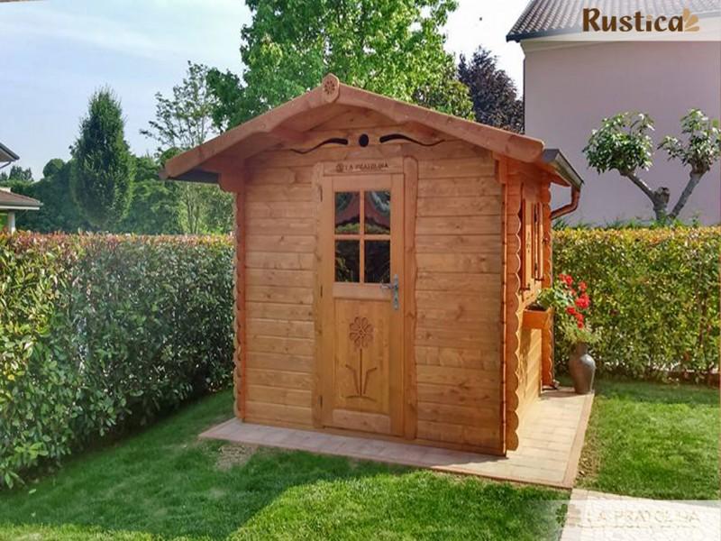 Casetta Giardino In Legno : Casetta in legno la pratolina