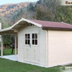 Casetta in legno 3×3 con tettoia laterale