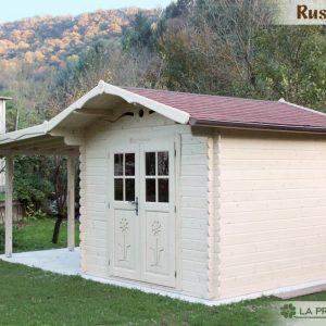 Casetta in legno 3x3 con tettoia laterale