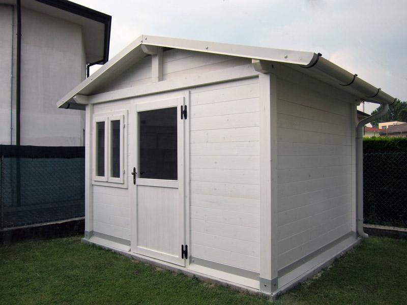 Casetta in legno pvc o alluminio la pratolina - Casette da giardino in alluminio ...
