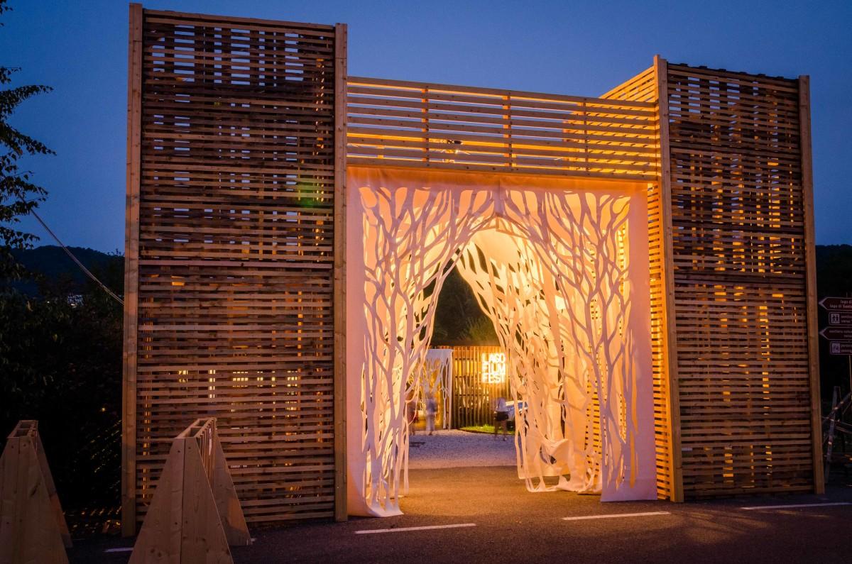 struttura in legno artistica