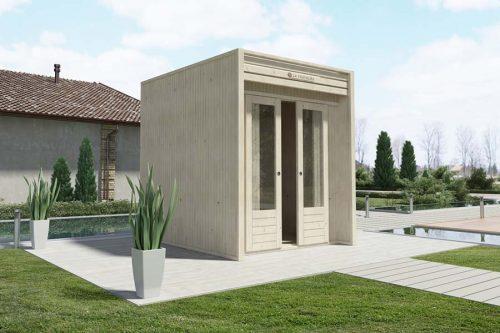 Vendita casette da giardino moderne cubo la pratolina - Casette da giardino moderne ...