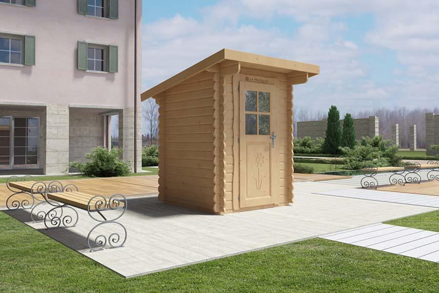 Casetta in legno la pratolina - Casette in legno da giardino economiche ...