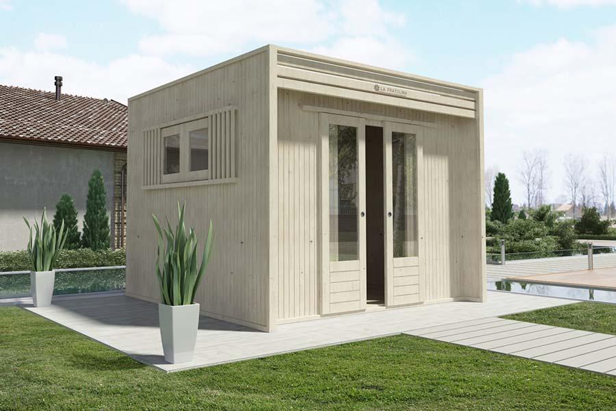 Casetta Giardino Offerta : Casetta di legno la pratolina