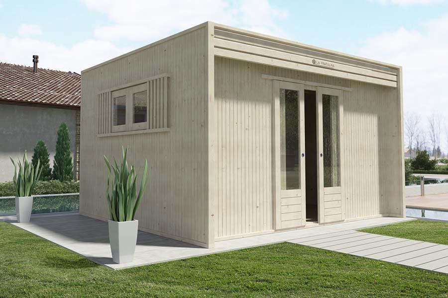 casetta di legno 4x3 cubo la pratolina