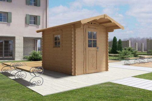 Casetta In Legno Giardino : Vendita casette da giardino modello rustica la pratolina