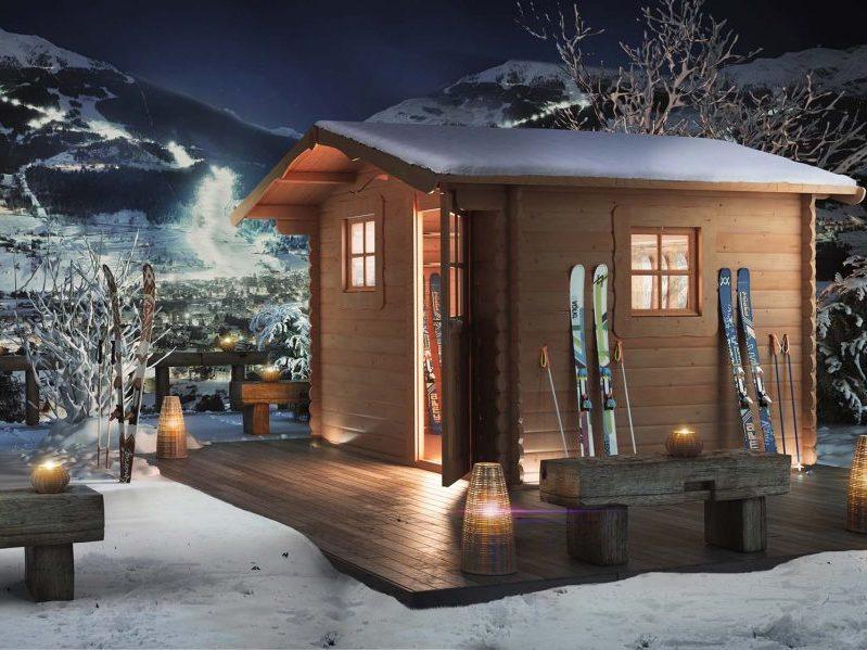 Casette da giardino in versione invernale la pratolina for La pratolina casette