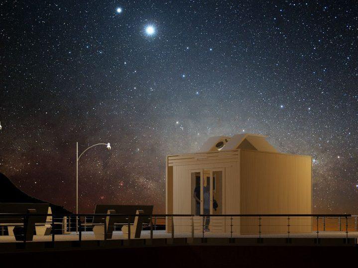 Casetta CUBO osservatorio