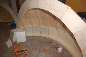 Auto-costruzione cupola3