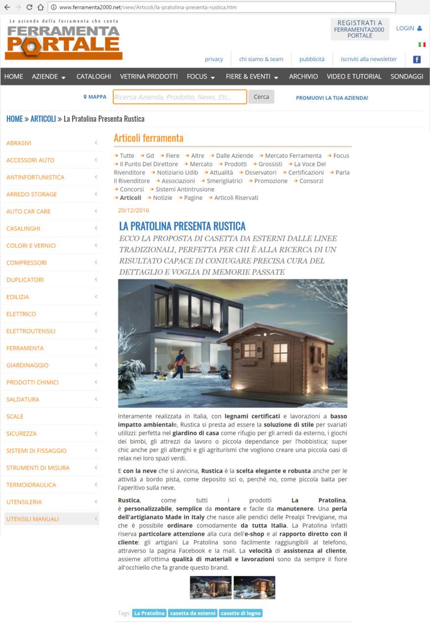 articolo FERRAMENTA 2000