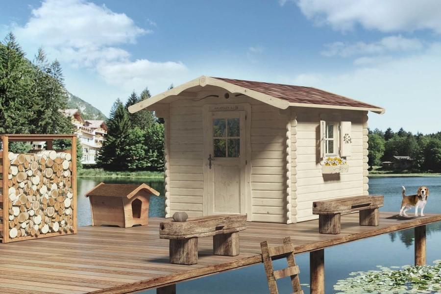 Casetta di legno su palafitte la pratolina for La pratolina casette